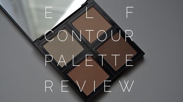 New elf Contour Palette Review