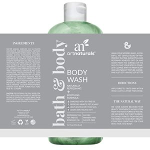 Art Naturals Tea Tree Body Wash with Peppermint & Eucalyptus Oil