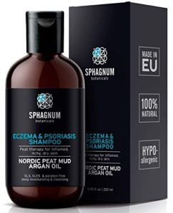 Sphagnum Botanicals Psoriasis Shampoo with Peanut Mud