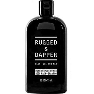 Rugged and Dapper Perfect Smelling Body Wash and Shampoo for Men