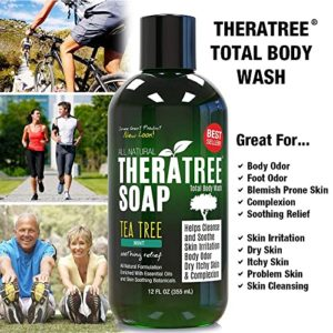 Thera Tree Tea Tree Body Wash with Neem Oil