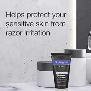 Neutrogena Shaving Cream for Men with Sensitive Skin
