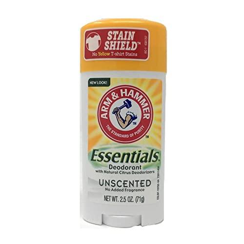 Arm and Hammer Essentials Unscented Deodorant