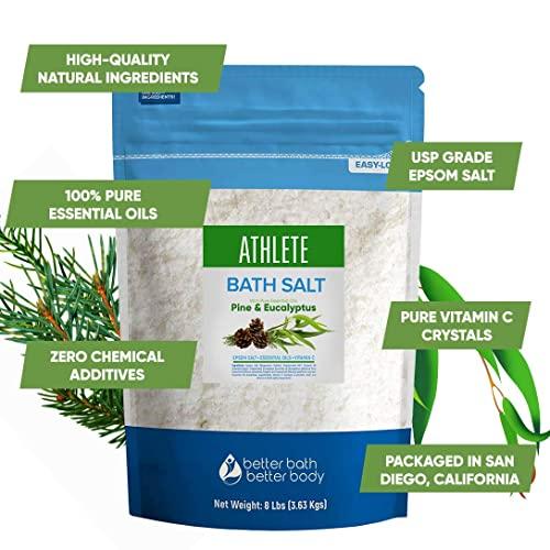 Better Bath Better Body Athlete Epsom Salth with Natural Lavender