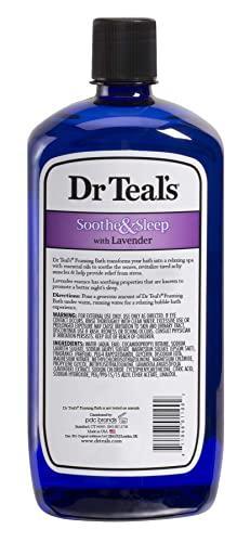 Dr. Teal's Foaming Bath with Epsom Salt and Lavender