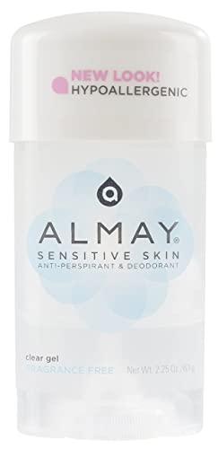 FF Almay Fragrance-Free Deodorant plus Antiperspirant for Sensitive Skin