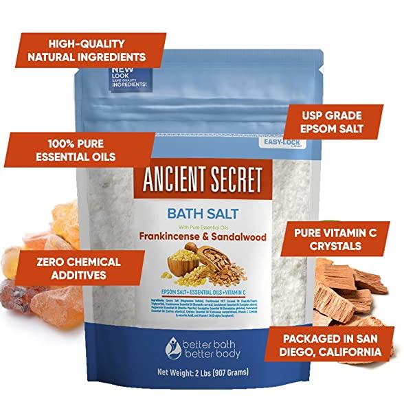 Solimo Amazon Brand Epsom Salt