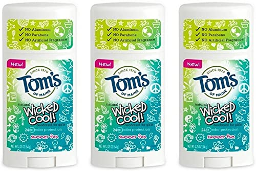 KT Travel Natural Wicked Cool Deodorant for Girls