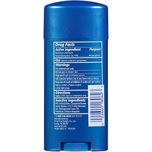 Arrid XX Extra Dry Solid Unscented Deodorant