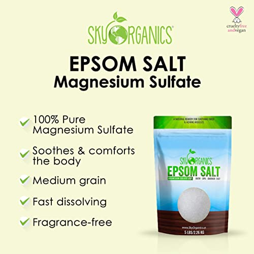 Sky Organics Epsom Salt for Bath and Foot Soak
