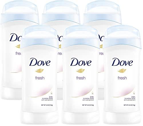 Dove Invisible 6-pack Antiperspirant Deodorant